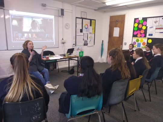 Digital Girls Inspiration Day with Guest Speaker Sinéad McKenna